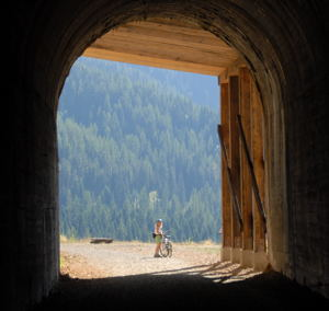 Spur-of-the-Moment Activities can often be the most fun / Hiawatha Bike Trail, Idaho - (c) 2006 Ted Grellner